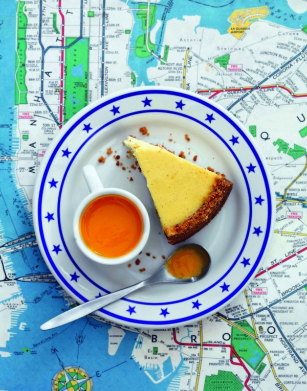 Le New-York cheesecake de Julie Andrieu.