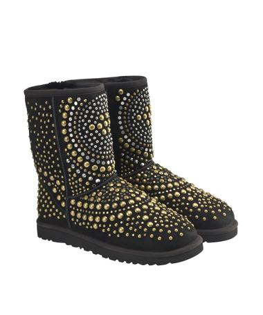 Mandah UGG Black by Jimmy Choo