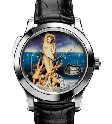 Montre Master Minute Repeater Venus Ingres Collection Email, Jaeger-leCoultre
